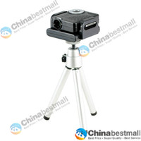 Wholesale Mini x240 Portable Multimedia Pocket Cinema Pico Projector for iPod amp iPhone s with Tripod