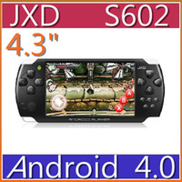 Wholesale HKpost Inch JXD Cortex A8 Smart Android HDMI Out P HD GB Game Console