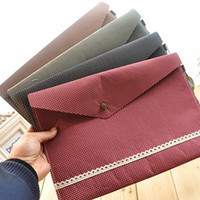 Wholesale Office File Bag File Pocket Document Bag Paper bags Filing Supplies Storage School Supplies