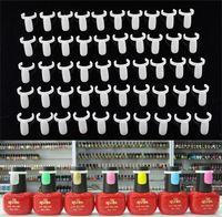 Nail Art Tools nail polish display - UV Gel Nail Polish Display Stand Clip On Bottle For Nail Enamel Color showing Tool