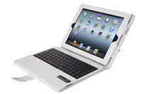 Wholesale Seenda Detachable Wireless Bluetooth keyboard Good PU leather folio case for iPad New iPad