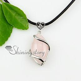 rose quartz amethyst stone necklace precious stones jewelry stone necklace Spsp0884TC5 precious stone jewellery