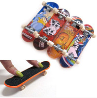 Wholesale 4 Pack Finger Board Tech Deck Truck Skateboard Boy Toy Party Favor Kids children