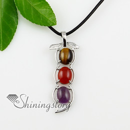 opal turquoise agate amethyst tigereye gem stone jewellery stone necklaces Spsp0916TC5 jewelry semi precious stones silver stone jewelry