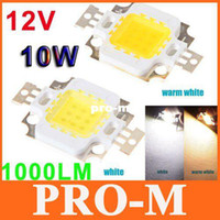 Wholesale White Warm white W LED Lamp Chip LM Bright Led Chip Bulb Light