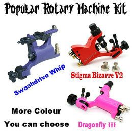 Wholesale 3pcs New Rotary Tattoo Machine High Quality tattoo machine gun dragonfly
