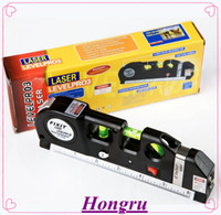 Wholesale n1 Aligner Horizon Vertical Laser Levels Measure Tape CM Retail box