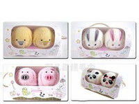 Wholesale 2013 New Marriage Wedding Gift Towel Wedding Favors Gift Couple Cotton Cake Animal Towel