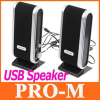Wholesale Mini speaker USB Portable sound box Multimedia Speaker For Laptop PC Computer