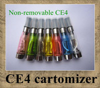 Wholesale Ego E cigarette CE4 atomizer cartomizer non removable