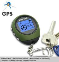 Wholesale Car Gps Navigation Rastreador Veicular Portable Mini Gps Location Finder Mileometer Travelling Company Wild Exploring Guider Keychain