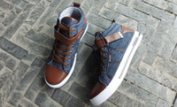 Wholesale High Qualiy Causal Shoes Mens Jeans Shoes Fashion Cool style