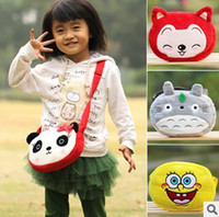 Wholesale 10pcs children schoolbag lovely cartoon backpack shoulder bag various style