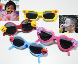 Wholesale Fashion D Cute Cool Baby Children Sunglasses UV Elmo Zoe Abby Cadabby