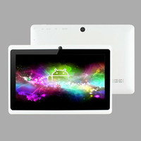 Wholesale 7 quot Dual Camera AllWinner A13 Tablet PC Capacitive Screen Q88 Q8 Android M GB WIFI Colors