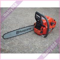 Wholesale 4PCS Brand New quot Guide Bar Husqvarna CC kw hp Gasoline Petrol Gas Chainsaw Chain Saw