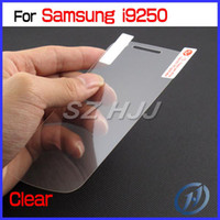 Wholesale Crystal Clear Screen Protector for Samsung i9250 LCD Screen Shield Cover without Package
