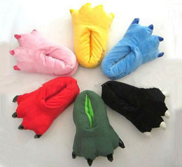 Wholesale cosplay animals claws shoe house shoes cotton slippers love apartment Leotard Adult Children s shoes