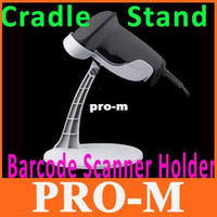 Wholesale Acan Barcode Scanner Holder Cradle Laser Scanner Stand White Color Drop Shipping