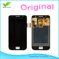 Wholesale 10pcs Original for samsung Galaxy S I9000 full lcd display touch digitzier screen DHL Black