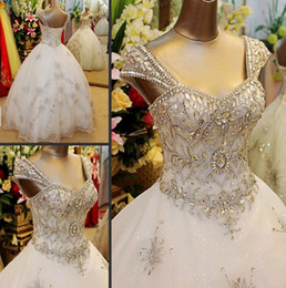 Wholesale Wedding dresses flash new super sexy Korean han edition strap tail wedding dress that wipe a bo