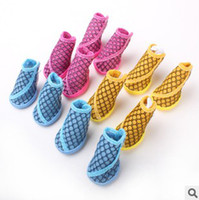 shoes for dogs - Pet clothes Pet shoes dog shoes Pierced breathable shoes for dog