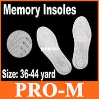 Insoles Insoles Guangdong China (Mainland) White Comfortable and Durable Anti-Arthritis Memory Foam Shoe Insole 10pairs lot Free Dropshipping