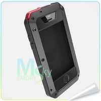 Wholesale iPhone4s Lunatik Taktik Extreme Warrior aluminum metal Cases in Retail Packaging