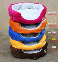 Wholesale 4pc Gift Cute Warm Soft Comfortable Pet Dog Bed Style Sleep Dog kennel mat