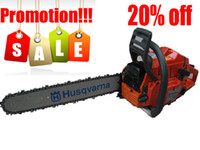 Wholesale Promotion Air cooling Husqvarna Gasoline Chainsaw Chain Saw CC KW quot Guide Bar