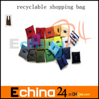 Wholesale New Fashion Foldable Waterproof Storage Eco Reusable Shopping Tote Bags