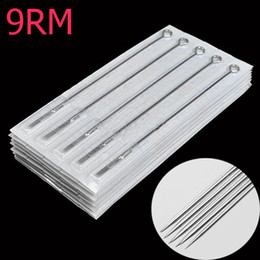 Wholesale 50PCS Tattoo needle RM Round Magnum needls L Sterilized high quality