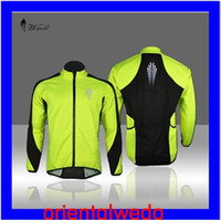 Wholesale 2013 Fleece Thermal Cycling Long Sleeve winter outdoor sport Jersey Jacket Windproof Windout Coat