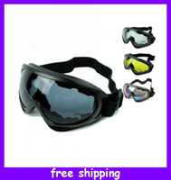 Wholesale Cool Motorcycle Motocross Dirt Bike Off Road Racing Goggles glasses Surfing Airsoft Paintball