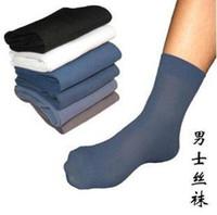 Stockings bamboo fibre socks - 20pair Men s thin socks bamboo fibre sock man foot socks