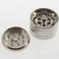 Wholesale New arrival Dollar Coins Style stainless steelHerbal Herb Tobacco Grinder