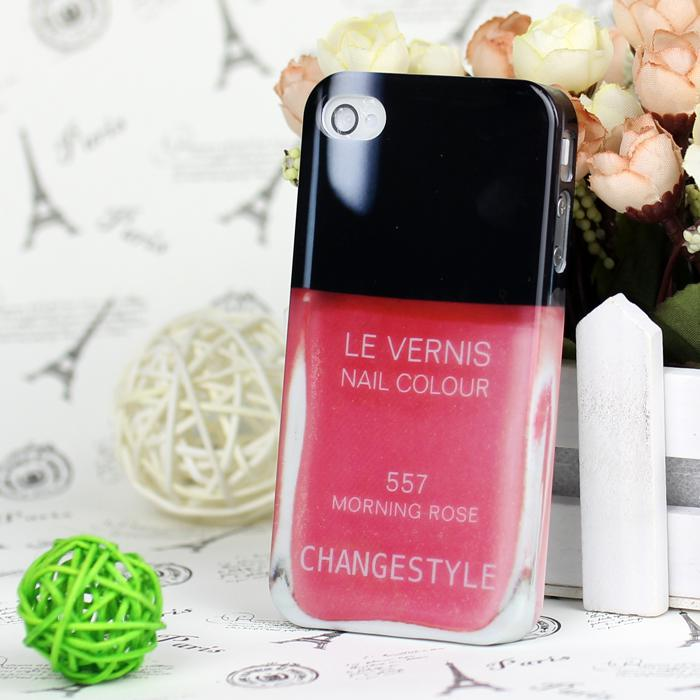 Phone Case for Iphone 4 4S 5 Water Transfer Printing Nail Polish Sweet ...