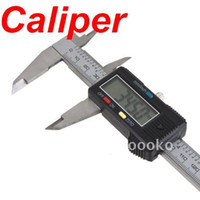 Wholesale Electric quot Stainless Steel Digital Vernier Dial Caliper Gauge Micrometer MM