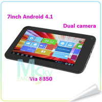 7 inch 5 inch tablet - 7 inch VIA WM8850 Android Tablet PC Dual Camera GHz M G Colors tablet pc