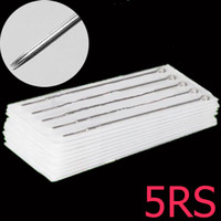 Wholesale 50PCS RS Tattoo needle Round Shaders needles L Sterilized for tattoo gun