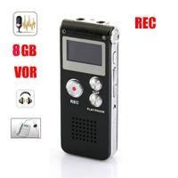 Wholesale New black GB digital voice recorder Telphone recorder VOR REC MP3 player