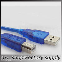 Wholesale 5 m USB Print Line USB2 A B Cable USB data cable