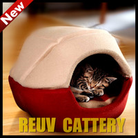 Wholesale Shell Type Dual use dog bed Kitty Litter Cat nest pet house dog house dog bed pet beds S Freeship