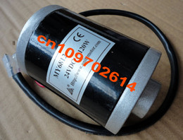 Wholesale Brand new ELECTRIC SCOOTER BIKE MOTOR ENGINE VOLT W Belt Drive permanent magnet BRUSHED Motor