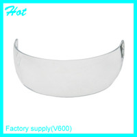 Wholesale Face protection outdoors soprt product PC clear ice hockey helmet visor