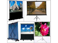Wholesale Hot Sell quot inch White Matt Tripod screen portable projection screen tripod projector screen