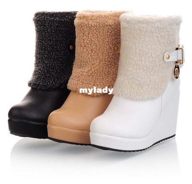 EU34-EU43 Women Winter warm boots shoes sexy long boots for sale