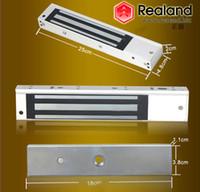 magnetic door lock - Electric Magnetic Door Lock kg lbs electromagnet Holding Force For Wooden Glass Metal Door
