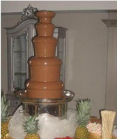 Wholesale Commercial Adjustable Tiers Electric Chocolate Fountain Maker