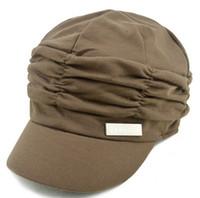 Wholesale Folding Women Cap Beanie Hat Autumn Winter Fashion Wool Knitted Cap Drop Shipping